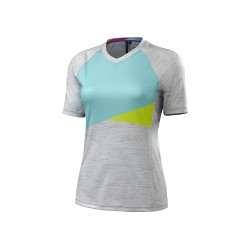 SPECIALIZED MAGLIA MC ANDORRA COMP DONNA ANTRACITE CORALLO
