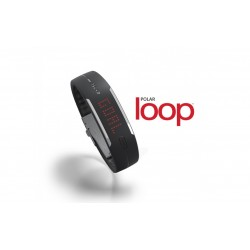 POLAR  LOOP activity tracker nero