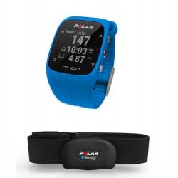 POLAR M400 CARDIOFREQUENIMETRO GPS con fascia cardio BLU