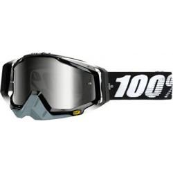 Occhiali 100% dh Racecraft ABYSS BLACK lente chiara
