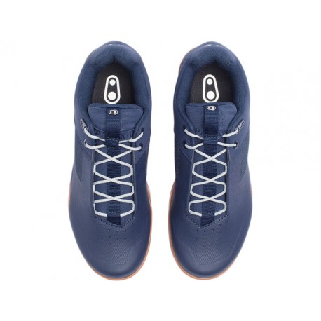 Crankbrothers STAMP Lace Shoes, navy/silver (2021)