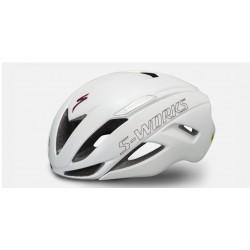 SPECIALIZED SW CASCO EVADE 2022 Matte/Gloss Metallic White/Maroon
